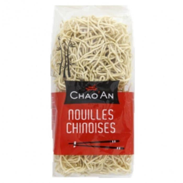 Nouilles chinoises sèches instantanée - Chao'an - sachet 400g