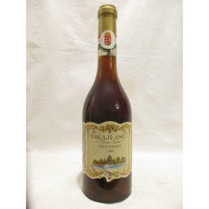 50 cl prince arpad 5 puttonyos liquoreux 1988 - tokaji hongrie
