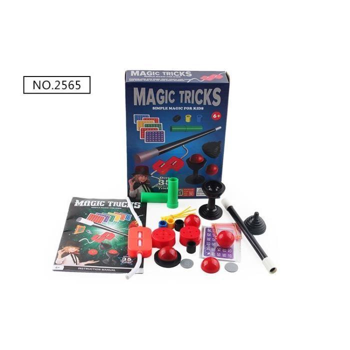 Kit de tours de magie pour enfants, Puzzle, Simple, pour débutants, excitant, spectacle de Performance, avec manuel d