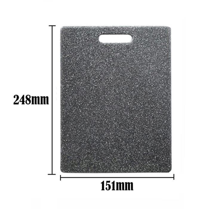 Planche à découper,1pc en plastique planche à découper PP matériel environnement cuisine planche à découper - Type S 248x151x8mm