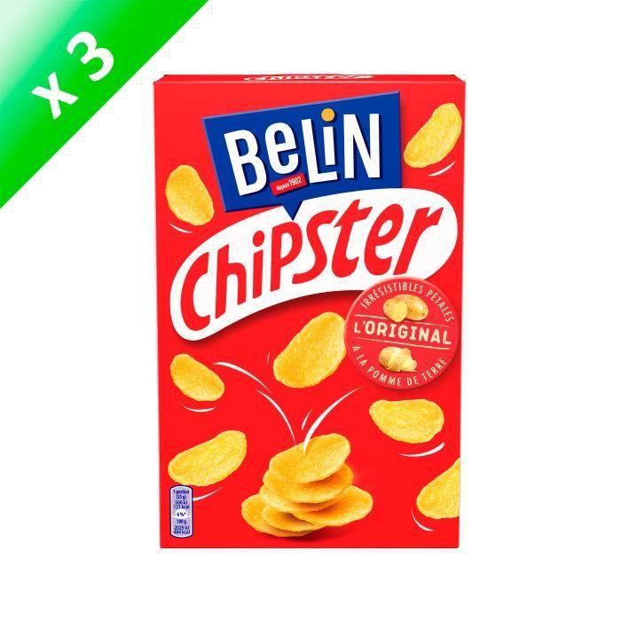 [LOT DE 3] BELIN Biscuits salés - 75 g