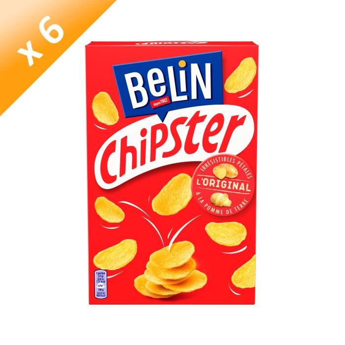 [LOT DE 6] BELIN Biscuits salés - 75 g