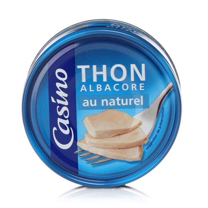 Thon Albacore au naturel - 93 g