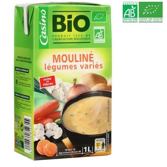 Soupe aux légumes - Bio - 1L