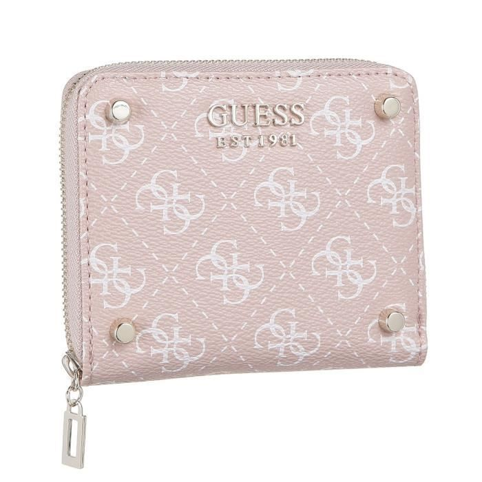 GUESS Portefeuille Rosewood Rose Femme