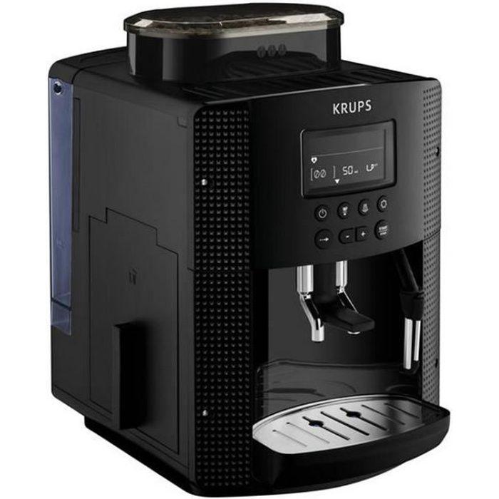 krups - robot café 15 bars noir - yy4147fd