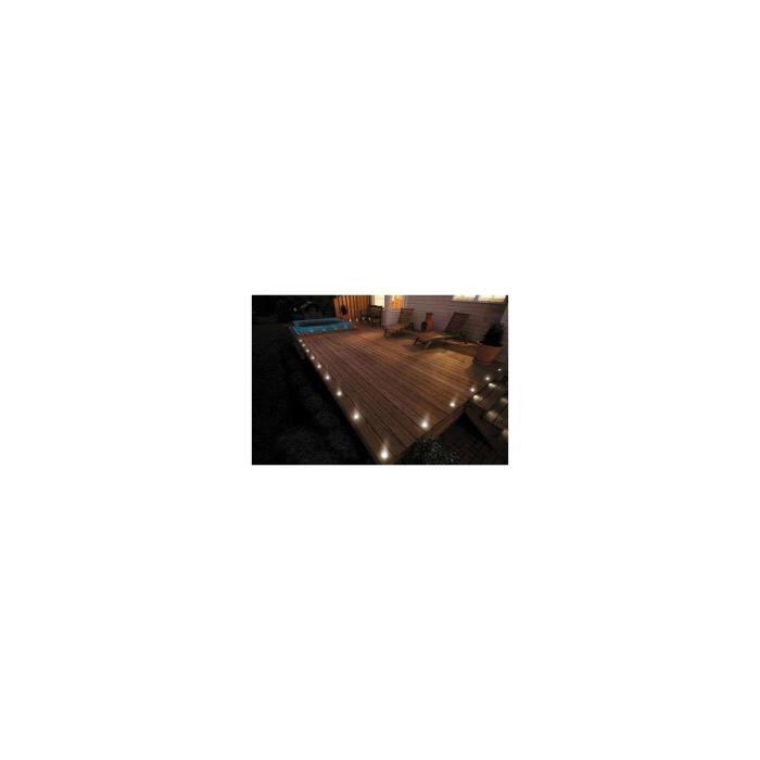 Kit spots LED encastrables ultra-plats - Blanc Chaud 2700K - 16 spots LED - Sans Télécommande