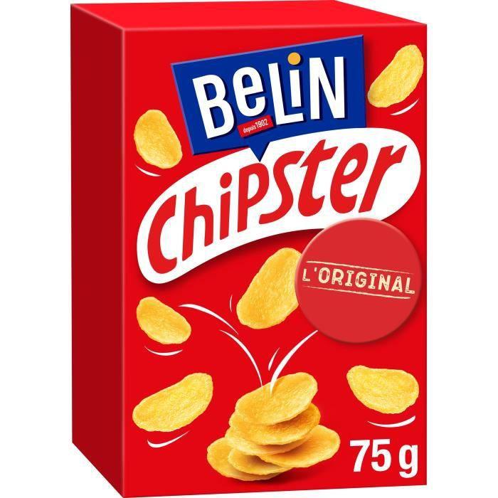 BELIN Chipster Salé - 75 g