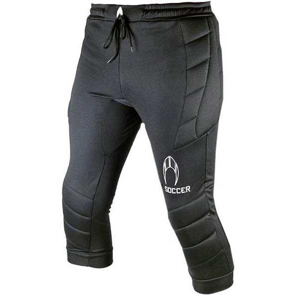 vêtements homme pantalons ho soccer pants 3/4 logo. pantalon 3/4 de goalkeeper pro qualité en polyester 100% haute qualité en slim f