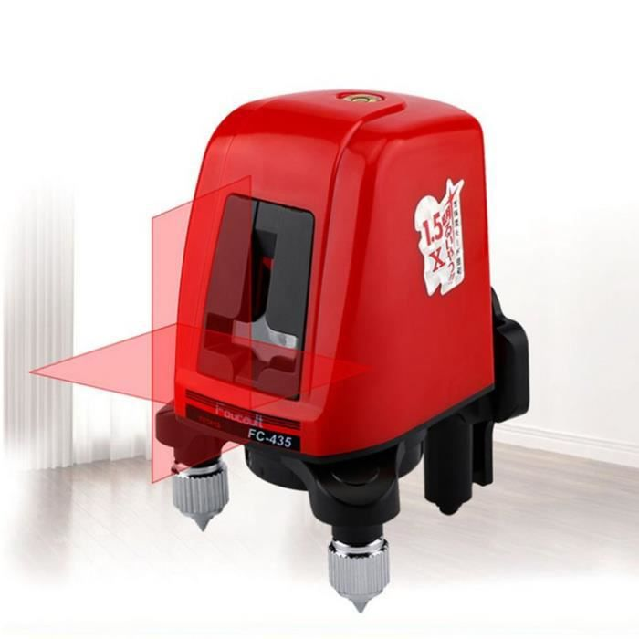 @EXE Niveau laser vertical horizontal portable autonivelant 98 * 95 * 128mm
