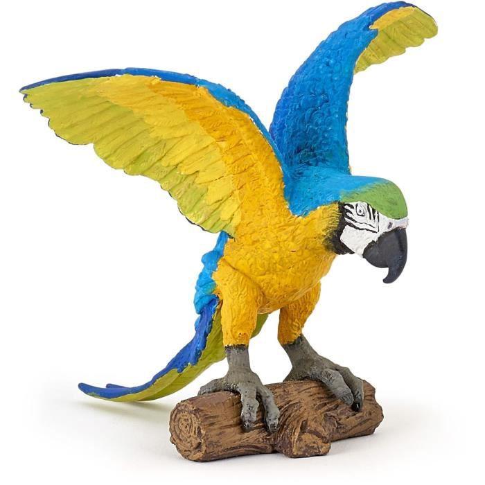 PAPO Figurine Perroquet Ara - Bleu