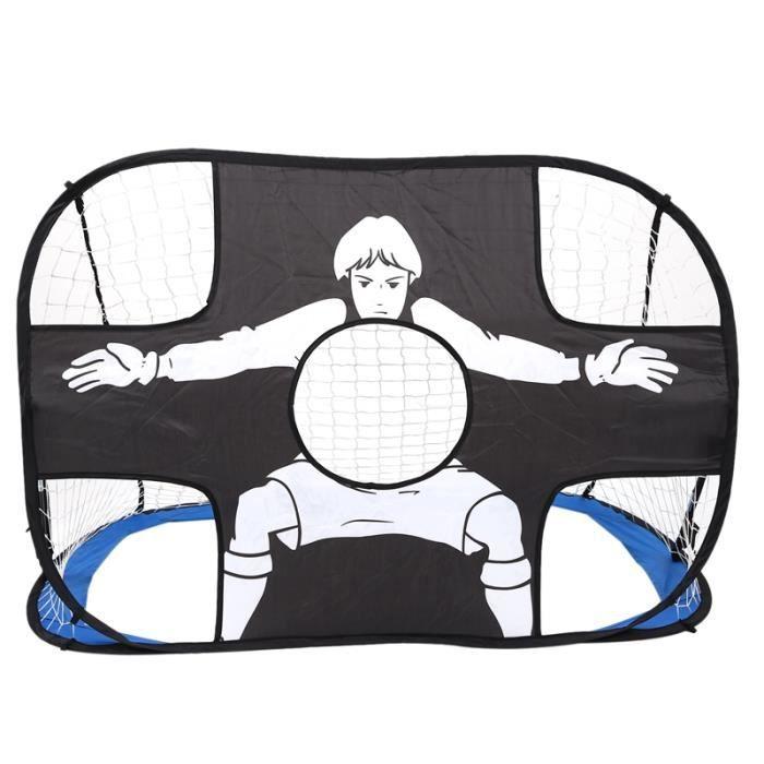 But de Soccer Portable pour Enfants Enfants Jouets D'IntéRieur et de Plein Air Petit Cadre de Soccer Portique de Plage IntéRieur et