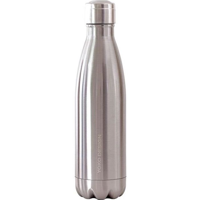 Bouteille isotherme YOKO DESIGN 500 ml coloris Silver