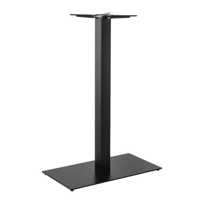 pied de table elenna noir achat vente pied de table pied de table elenna noir cdiscount. Black Bedroom Furniture Sets. Home Design Ideas
