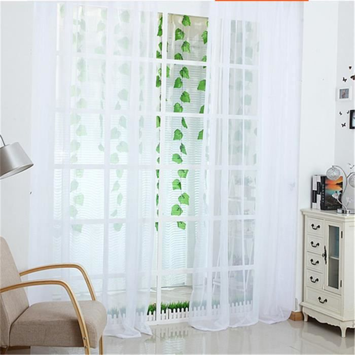 voilage cantonni res tulle voile porte fen tre panneau de. Black Bedroom Furniture Sets. Home Design Ideas