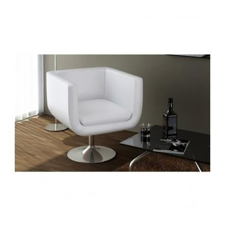 fauteuil de bar moderne r glable blanc maja achat. Black Bedroom Furniture Sets. Home Design Ideas