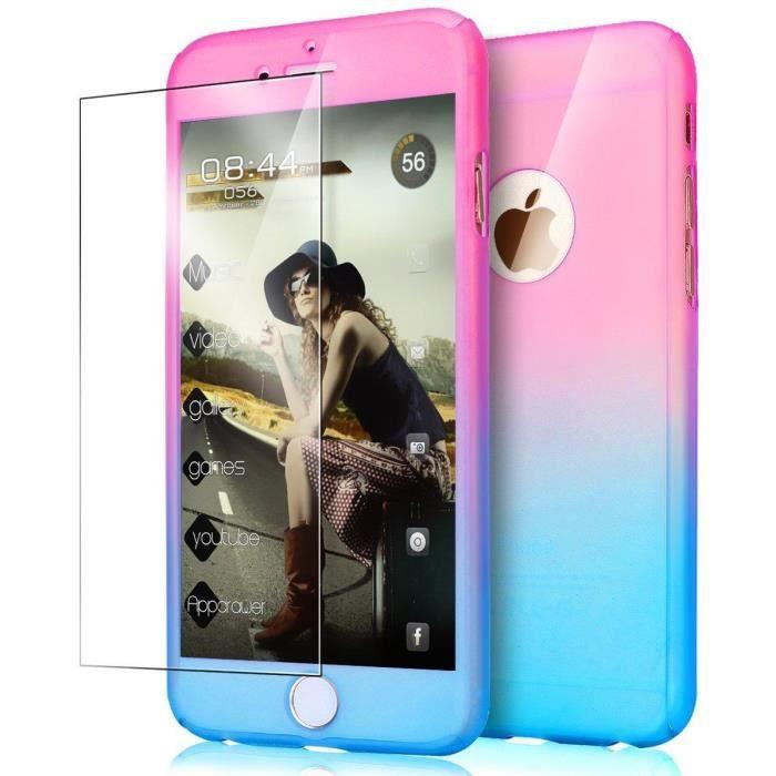coque iphone se iphone 5s 5 degrade de couleur r