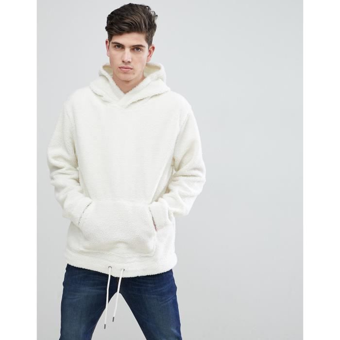 hoodie mouton homme