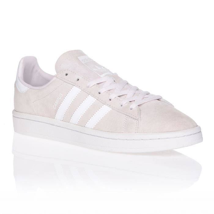 ADIDAS ORIGINALS Baskets CAMPUS - FEMME - ROSE/BLANC