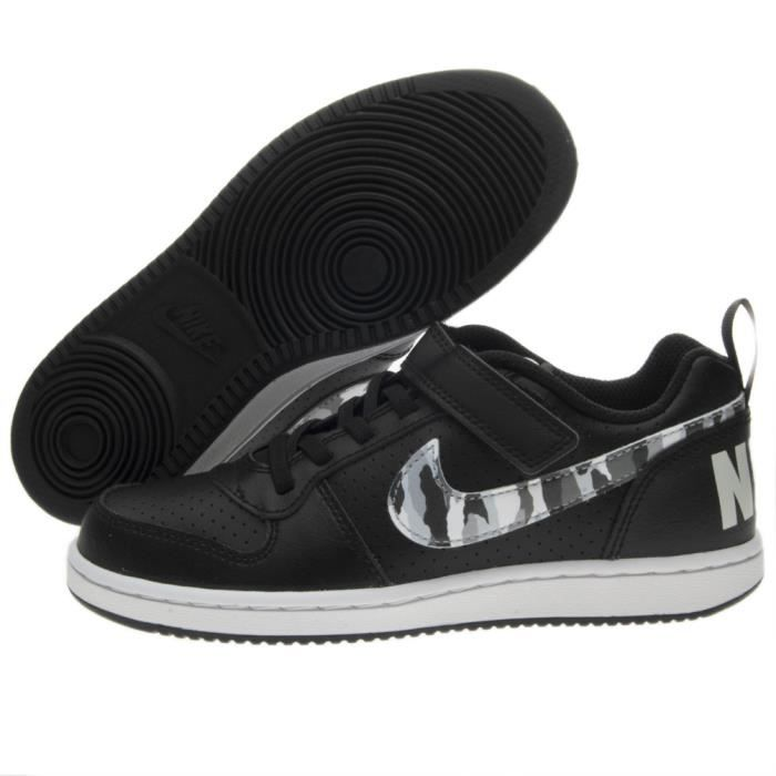 differently ac54e 283cc Basket Nike Nike Court Borough Low (Ps) 870025-005