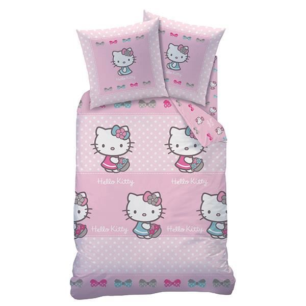 housse de couette hello kitty salom achat vente. Black Bedroom Furniture Sets. Home Design Ideas