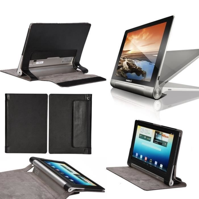 etui coque lenovo yoga tablet 2 8 0 noir housse prix pas cher cdiscount. Black Bedroom Furniture Sets. Home Design Ideas