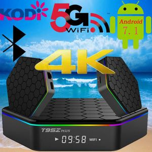 BOX MULTIMEDIA WIFI double plus 2 Go + 16 Go Smart Android 7.1 TV