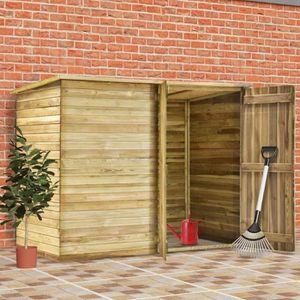 ABRI JARDIN - CHALET CESAR Abri de jardin 232x110x170 cm Bois de pin im