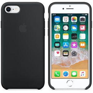 apple coque silicone noir iphone 7 8