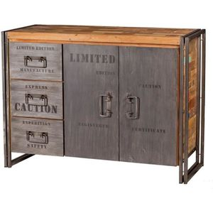 buffet industriel achat vente buffet industriel pas. Black Bedroom Furniture Sets. Home Design Ideas