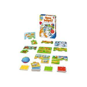 PUZZLE Ravensburger Bunny Hop! puzzle 3 pièces