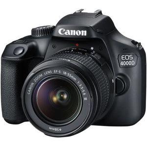 APPAREIL PHOTO RÉFLEX Canon EOS 4000D Appareil photo numérique Reflex 18