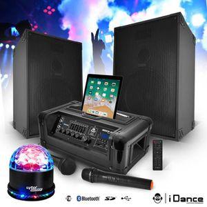 PACK SONO Pack sono 400W - BT-USB-SD-FM - 2 Enceintes 10