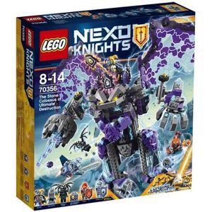 ASSEMBLAGE CONSTRUCTION LEGO® Nexo Knights 70356 Le Colosse de Pierre de l