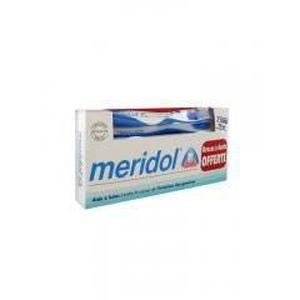 DENTIFRICE Méridol Dentifrice Lot de 2 x 75 ml + Brosse à Den