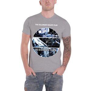 Official T Shirt The Dillinger Escape Plan de dissociation album Toutes Tailles