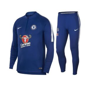 TENUE DE FOOTBALL ENSEMBLE NEWS TRAINING FC CHELSEA BLEU ADULTE 2018
