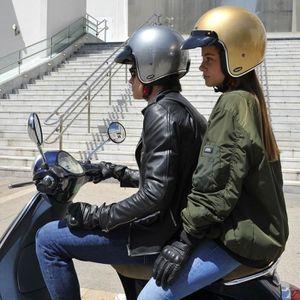 ATATMOUNT Casque de Moto l/éger Casque de v/élo de Route Hommes Femmes pour la s/écurit/é /à v/élo Adulte
