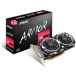 CARTE GRAPHIQUE INTERNE MSI Carte graphique AMD  Radeon RX 570 ARMOR 4G OC