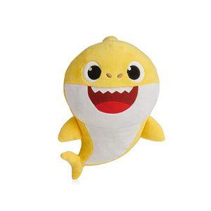 POUPÉE Soft Dolls Baby Cartoon Shark Fish Toys with Music