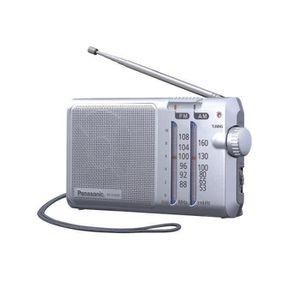 RADIO CD CASSETTE Panasonic RF-U160DEG-S Radio Portable avec Sangle,