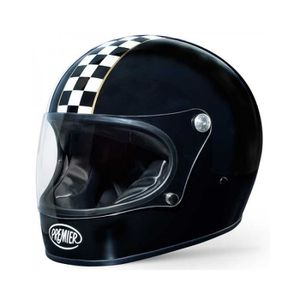 CASQUE MOTO SCOOTER PREMIER CASQUE INTEGRAL TROPHY CK NOIR M Noir