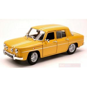 VOITURE À CONSTRUIRE WELLY WE0324 RENAULT R8 GORDINI 1964 YELLOW-WHITE