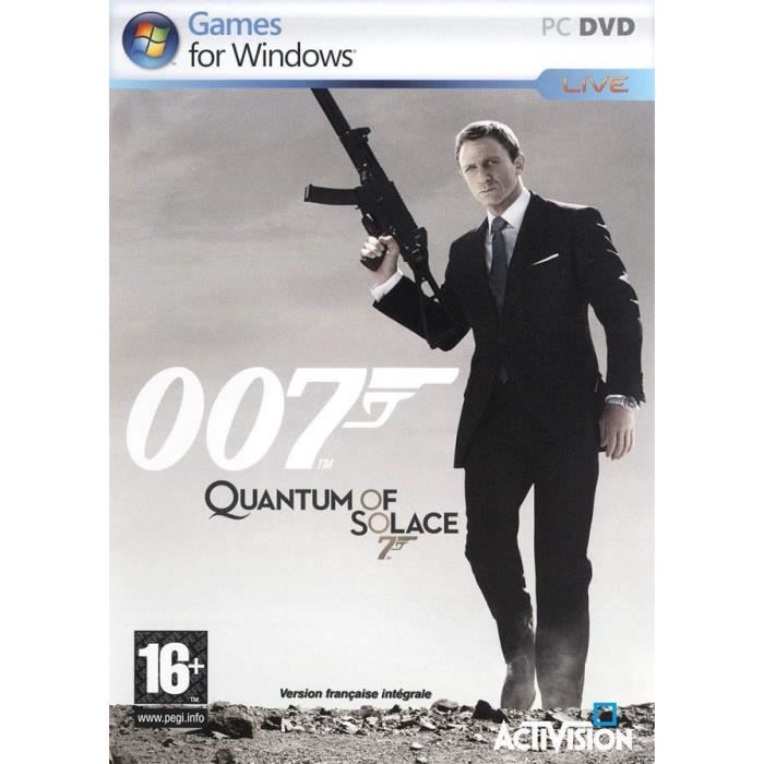 JEU PC JAMES BOND QUANTUM OF SOLACE / JEU PC DVD