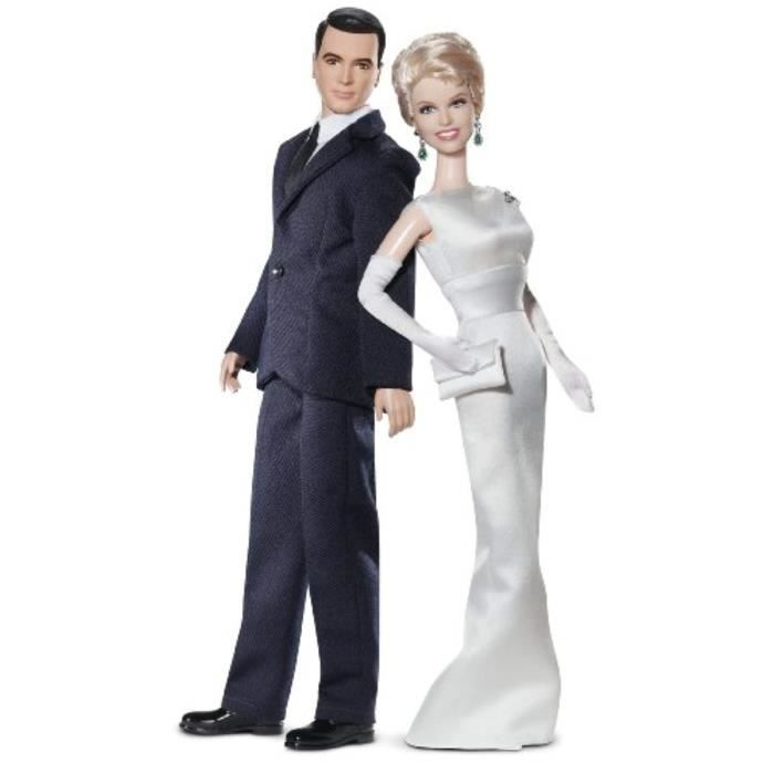 Poupee VT11J Collector Pillow Talk: Doris Day And Rock Hudson Doll Gift Set