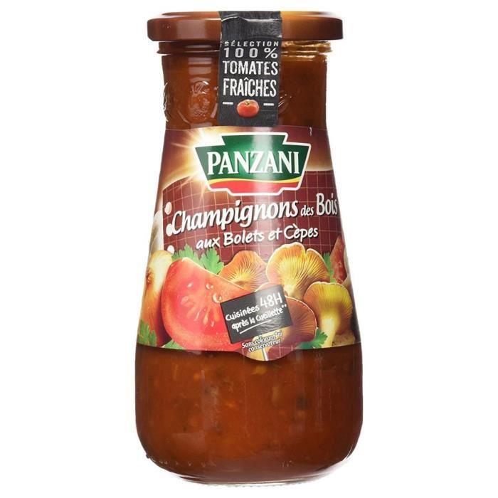 Panzani Sauce Tomates Champignons des Bois (lot de 6)