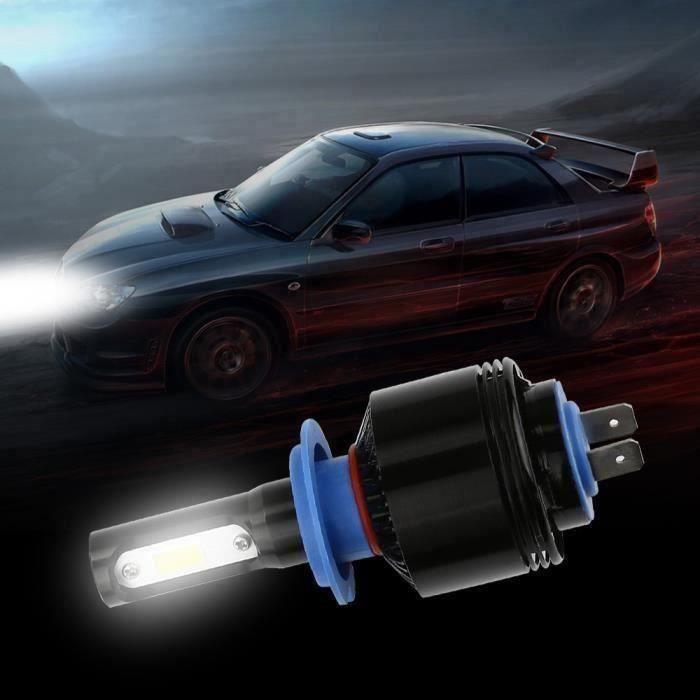 TH Phares voiture Kit conversion tout-en-un Ampoules LED - (H7) -4000Lm par 6500K Blanc RW071206