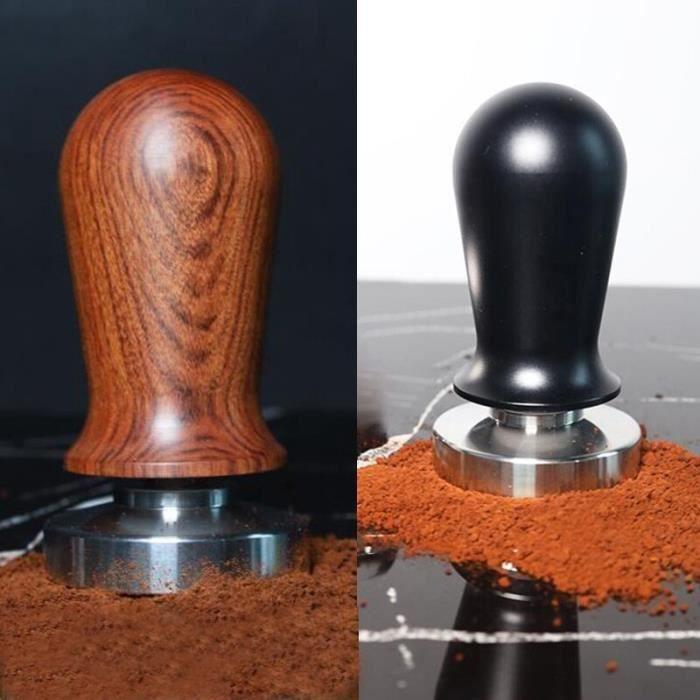 Tasseurs à café,Qualité alimentaire Expresso Café Tasseur de Café Machine Presse Base Plate Accessoires Barista
