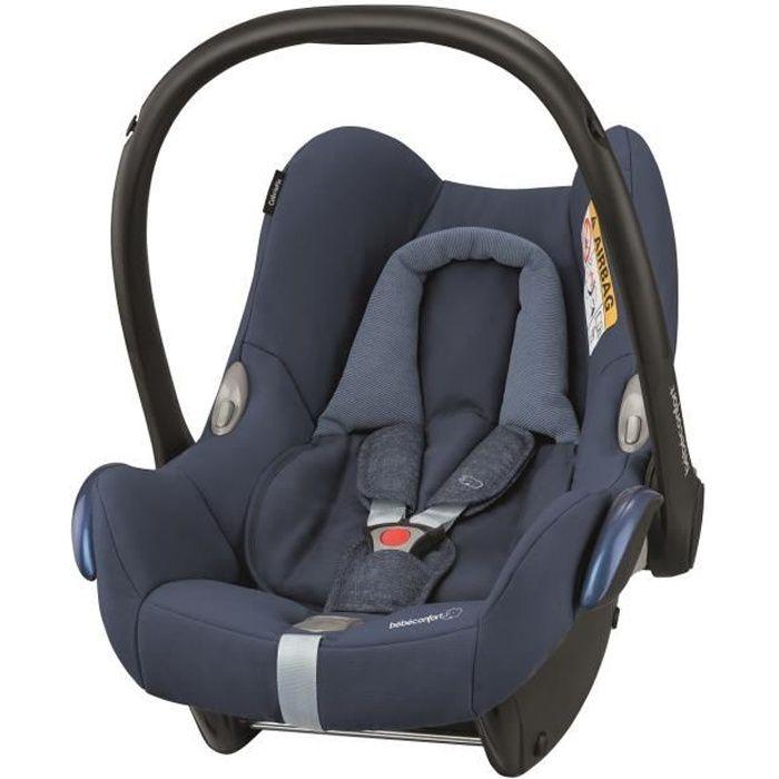 BEBE CONFORT Siège auto Cabriofix Groupe 0+ - Nomad Blue, dès la naissance