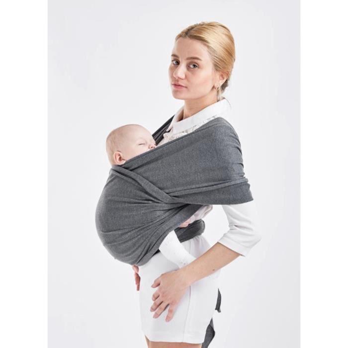 EOZY Écharpe de Portage Bébé Souple Porte Bébé Confortable